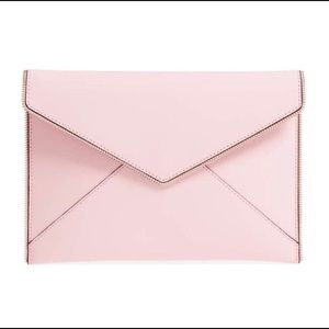 Rebecca Minkoff | Leo Envelope Clutch in Pink